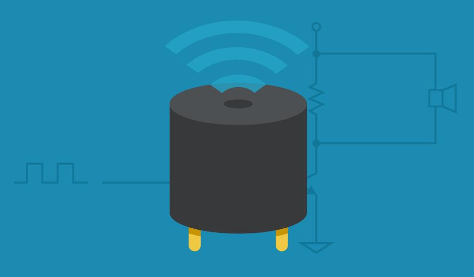 Piezoelectric Transducer Buzzer