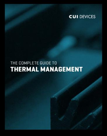Thermal Management eBook