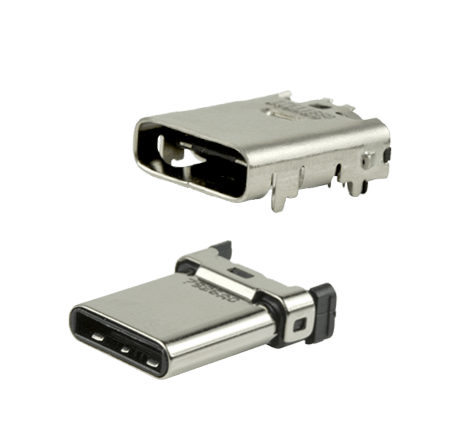 USB Type C Receptacles and Plugs