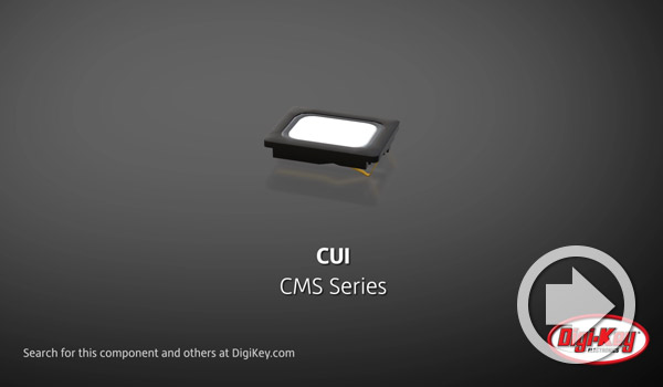 Digi-Key Daily Video Highlights CUI Devices' Waterproof Micro Speakers