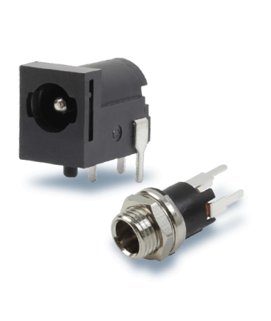 Barrel Power Connectors with 2.0 mm Center Pin