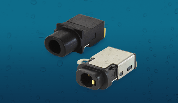 IP67定格対応の防水型3.5 mmオーディオ・ジャック・コネクター