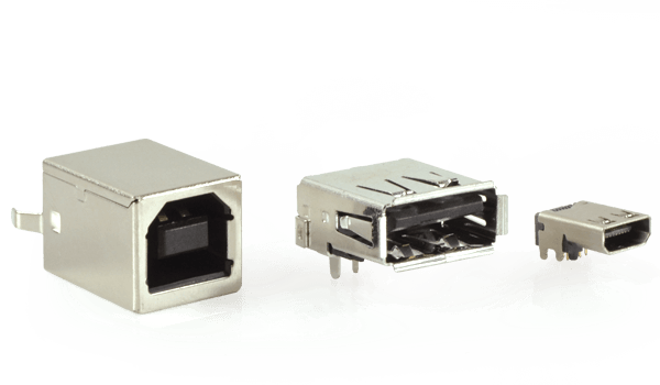 New Line of USB 2.0 and 3.0 Connectors Expands CUI Devices' Interconnect Portfolio