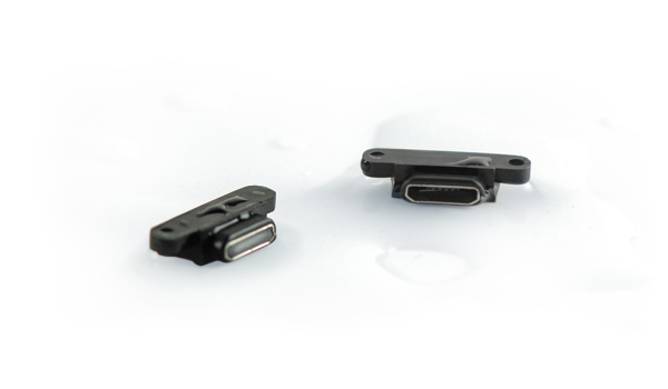 Waterproof Micro USB Connector Provides Protection and Performance for High Moisture Applications