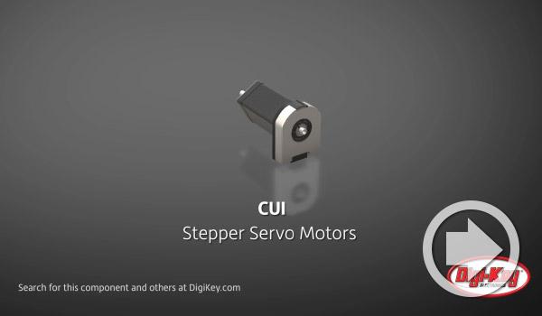 Digi-KeyデイリーでCUI Devicesのステッパーサーボモーターがハイライトされました