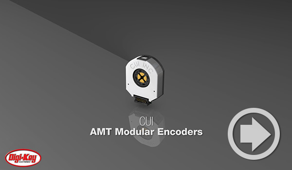 Digi-Key DailyビデオでCUI DevicesのAMTモジュラー・エンコーダーがハイライトされました