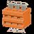 TBL009V-500 シリーズ オレンジ
