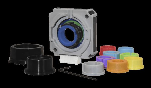 Commutation Encoder Supports 9 mm to 15.875 mm BLDC Motor Shafts