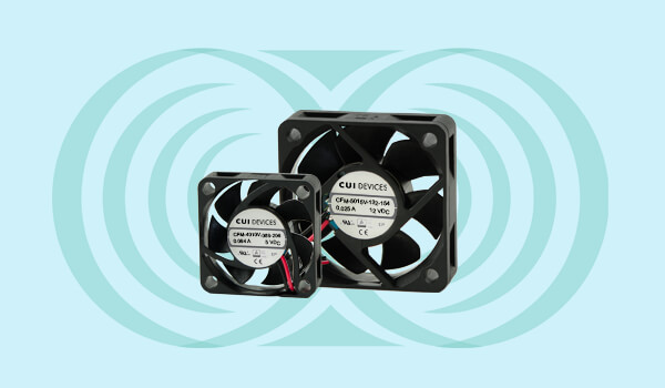 Dc Axial Fans Deliver Improved Life and Performance with Advanced Bearing System