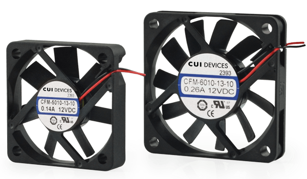 CUI Devices Introduces High Performance Dc Fan Line to Bolster Thermal Management Portfolio