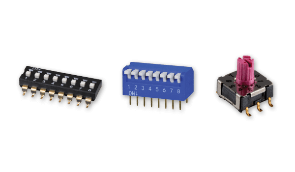CUI Devices Adds New Switches Group, Introduces DIP Switches Line