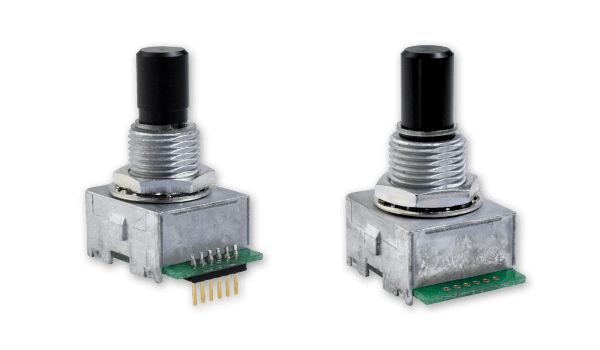 Panel Mount Encoder Series Adds Plastic Shaft Options Ideal for Medical Designs