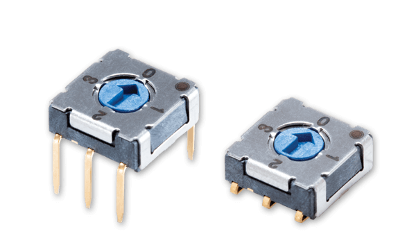 Micro Rotary DIP Switches Ideal for Space-Constrained Designs