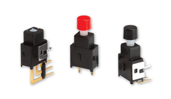 New Line of Push Button Switches Targets Space-Constrained Applications